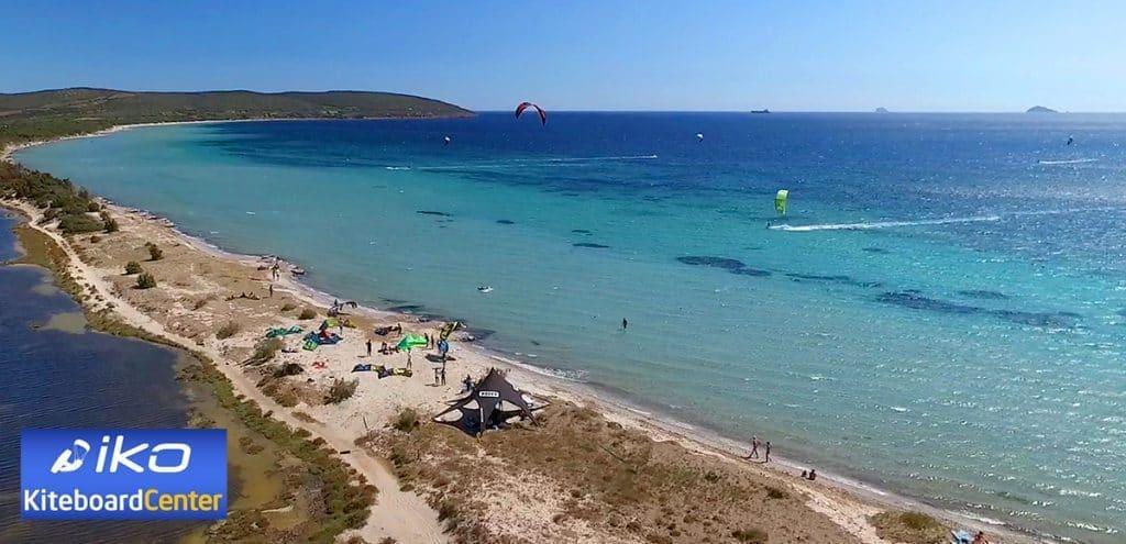 Kitesuring Sardynia