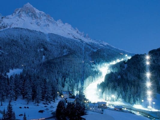 Oswietlony Stok Obereggen