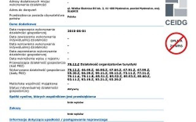 Certyfikaty firmy