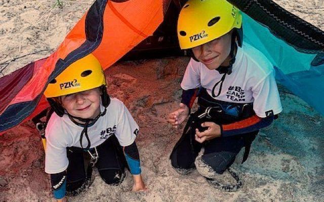 Kite Camp girls na Helu - obóz dla dziewczyn turnus  I