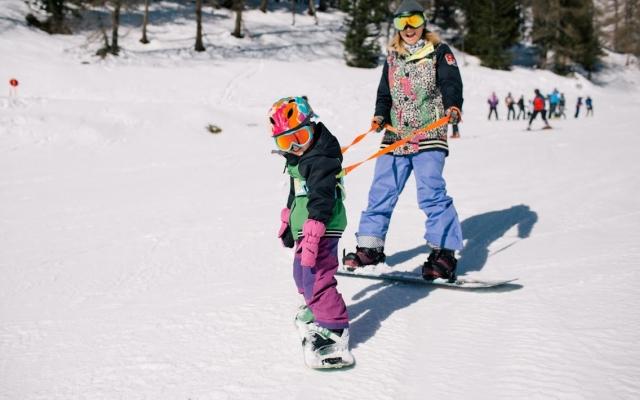 Przedszkole snowboardowe