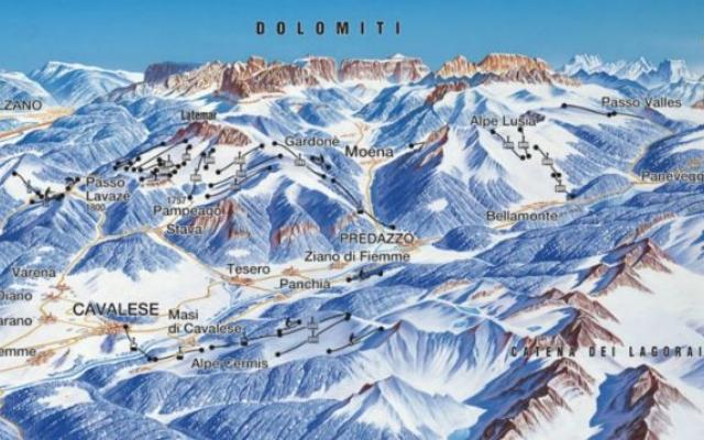 Val Di Femme Mapa