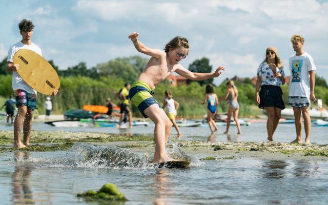 Kite Camp, obóz młodzieżowy I