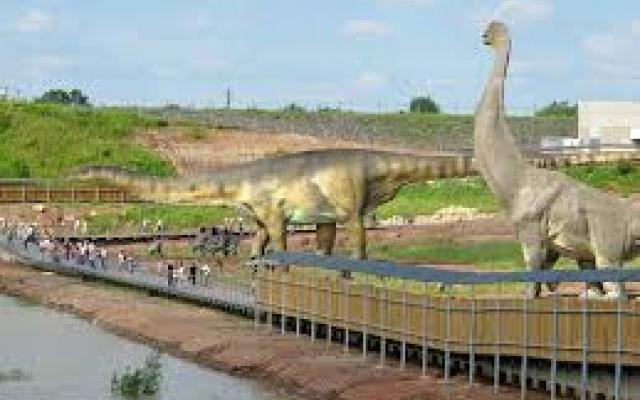 Krasiejów Jurapark i Park Ewolucji