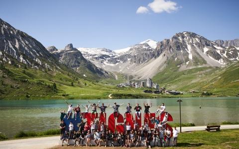 summer camp tignes 89