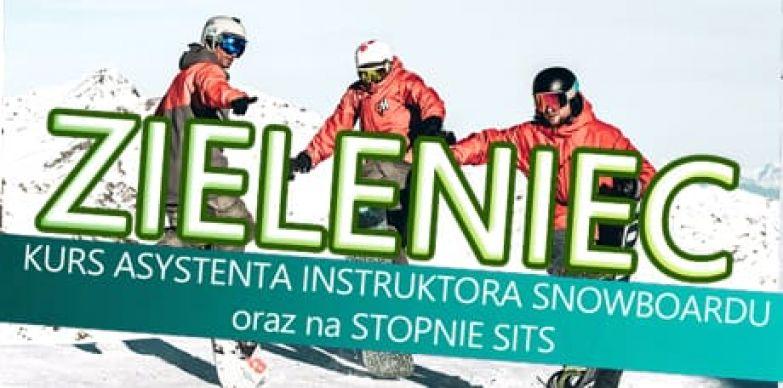 Kurs asystenta instruktora snowboardu i stopnie SITS  2020