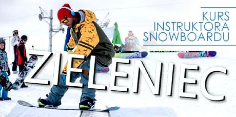 Kurs instruktora snowboardu Zieleniec 2020
