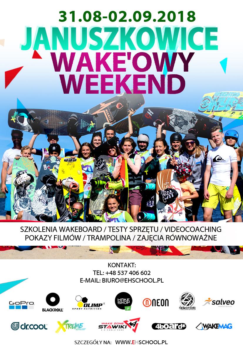 Wake`owy weekend Januszkowice 2 - 2018