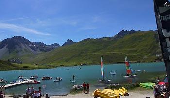 Summer Camp Tignes, Francja, lipiec 2016 - obóz młodzieżowy na narty i snowboard latem do Tignes z EHschool.