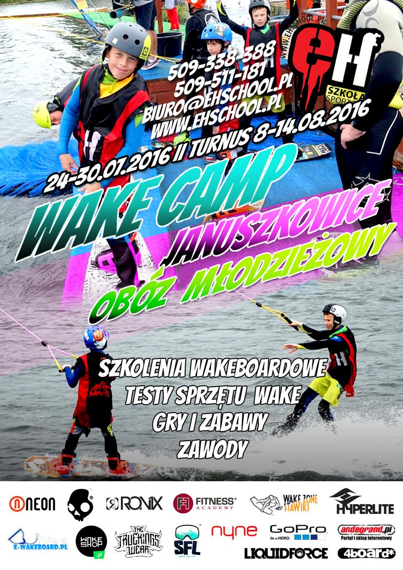 Januszki wakecamp 2016 eh poster mlodziez