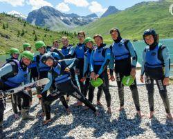 bike camp, rowery, tignes, ehschool, summer camp,
