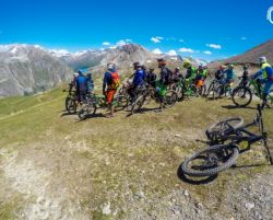 Bike Camp - wspomnienia z tras rowerowych w Tignes