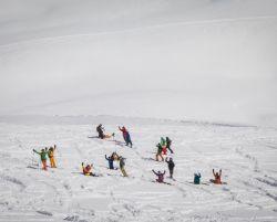 freeride, szkolenia snowboardowe, ehschool, gruzja, gudauri