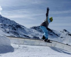 Fotorelacja - Spring Camp w Val Thorens