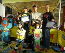 Burton Rigle Park - relacja z naszego przedszkola snowboardowego