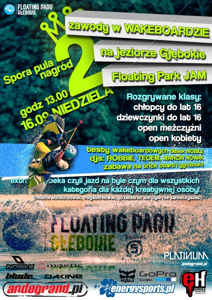 Zawody wakeboardowe w Szczecinie - Floating Park Głębokie 16.09.2012