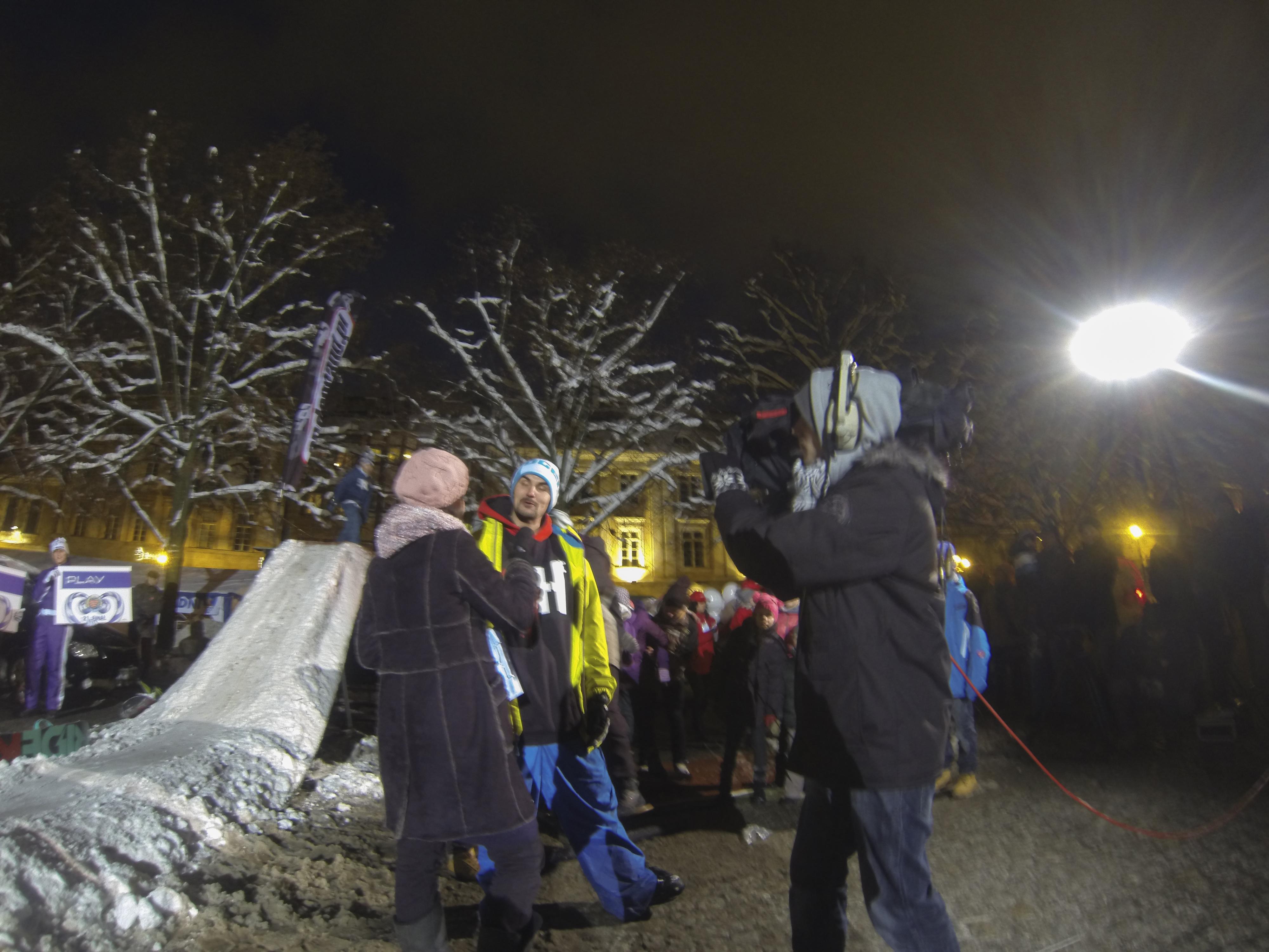 WOŚP 2013 - pokazy snowboarowe. Relacja + foto