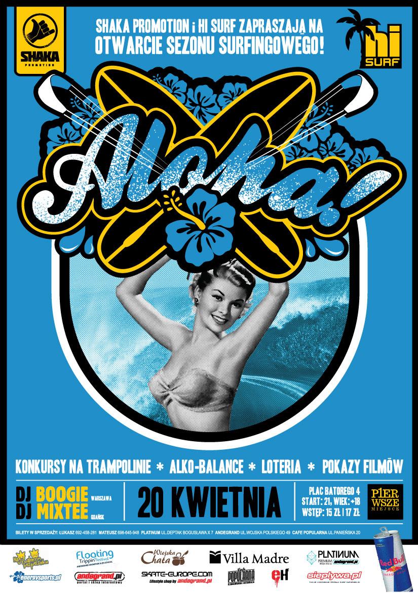 ALOHA! oficjalne OTWARCIE SEZONU SURFINGOWEGO 2012